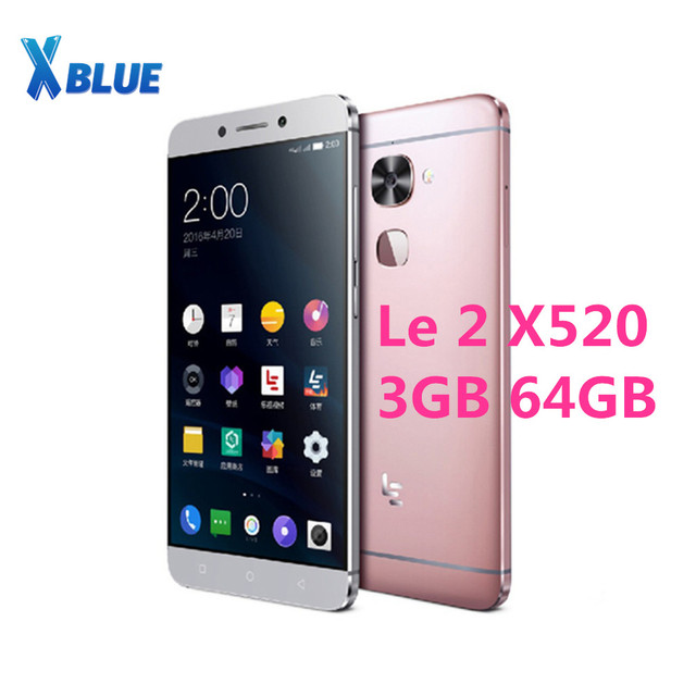 "Letv LeEco Le 2 X520 Mobile phone Snapdragon 652 Octa Core CellPhone 5.5"" 3GB 64GB 1920x1080 16.0MP+8.0MP Android Fingerprint"