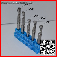 6mm Single Flute Spiral Bit /Arcylic Tool / Solid Carbide/engraving tools /A series
