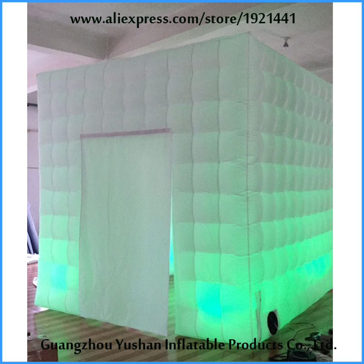 10ft LED strip on bottom inflatable mobile photo booth for sale ...