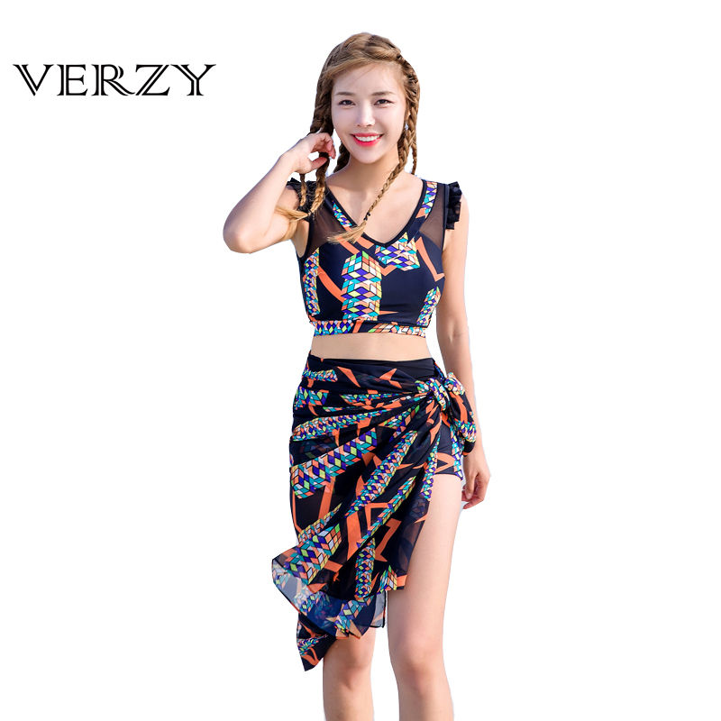Patchwork Mesh Cover Up Bikinis 2017 New Swimsuit Women Hollow Swimwear 3 Pieces Swimming Clothes Pad 2 Colors V-neck Beach Wear пуф patchwork colors