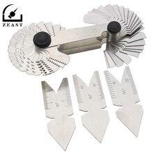 4 шт., набор инструментов для измерения наклона винтовой резьбы, измерительный прибор, токарный инструмент