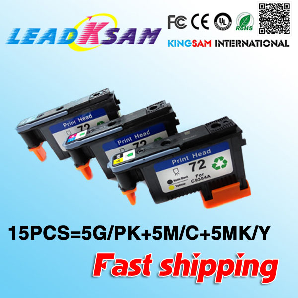 15x Fast Shipping Compatible For Hp 72print Head Repalcement For Hp72 Designjet 2300/t610/ T620/t770/t790/t1100/t1120