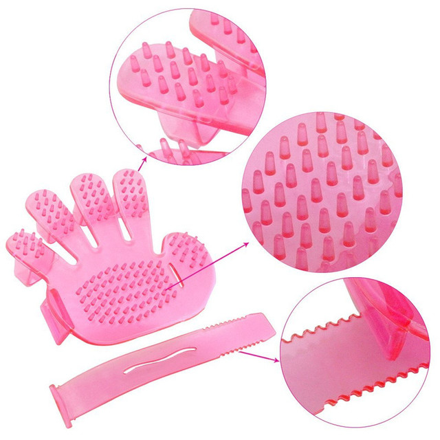 TAILUP Pets Dogs and Cats Brush Bath Cleaning Dogs Animal Brush Glove For Pets  Cleaning Hair Brush Glove Pet Dog Cat Glove
