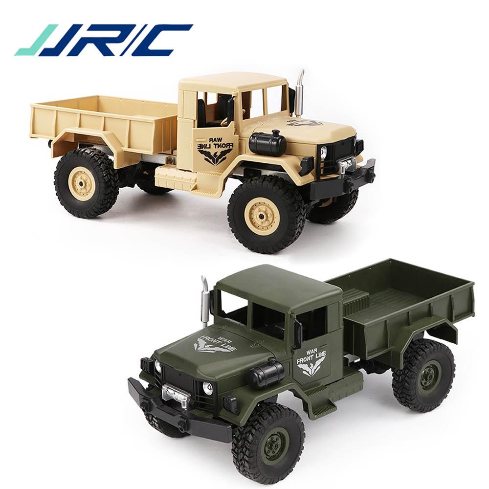 jjrc q62 4wd militar off road tronco de carro eletrico de rc rock crawler 2 4ghz