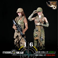 1/6 Scale Fire Girl Toys FG003 FG004 Female Tactical Shooter Uniform Set ACTION FIGURE MODEL TOY