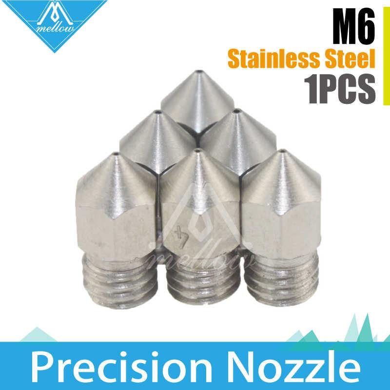 MK8 Steel Extruder Nozzle 0.2 0.3 0.4 5 1.75mm CR-10 Ender 3D PRINTER PART M6 UK