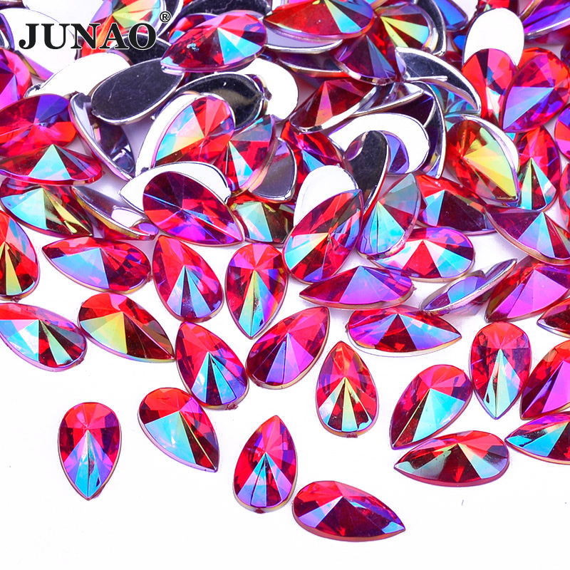 ... AB Crystals Drop Rhinestones Flatback Acrylic Crystals Stones Non  Hotfix Strass Non Sewing Beads for Dress. В избранное. gallery image f4229e0a33ff