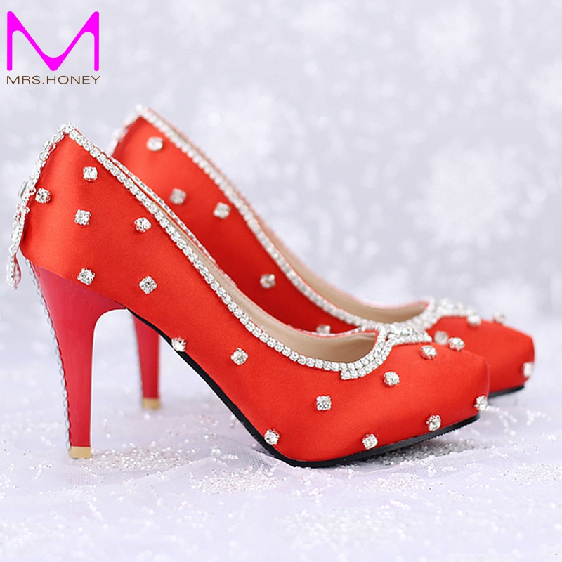 Red Heels 3 Inch Promotion-Shop for Promotional Red Heels 3 Inch ...