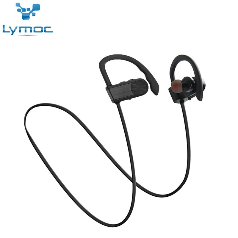Lymoc M5i Sans Fil Sport Bluetooth Écouteurs Basse Lourde Bruit Isolement Casques Haut de Gamme Marque Casque Fone De Ouvido