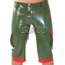 Латекс arny unifrom бриджи галифе латекс латекс брюки(China (Mainland))