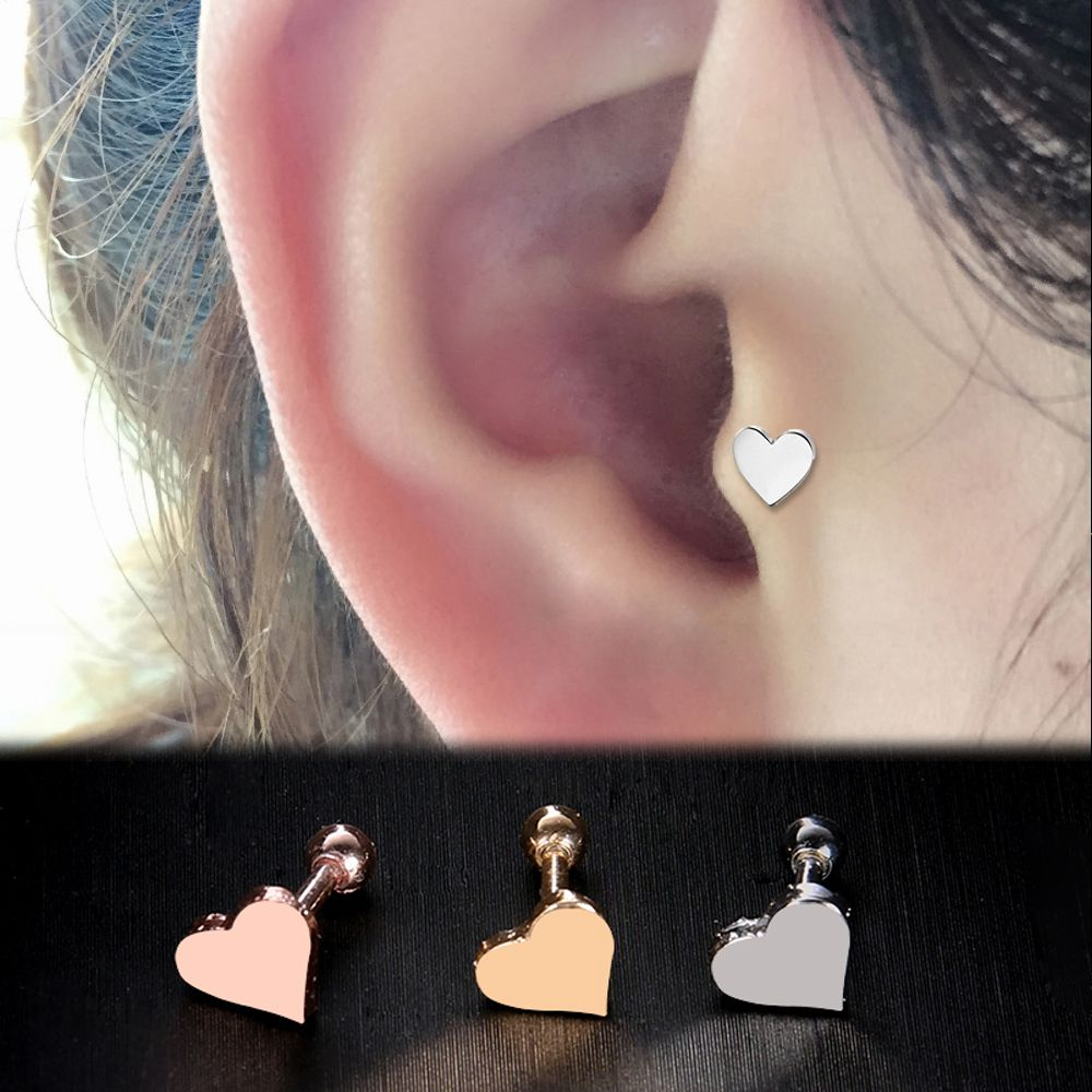 Buy 2 pcs fashion ear piercing labrets for Piercing orecchio dilatatore