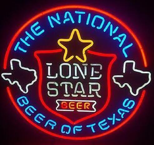 LONE STAR Beer Neon Light Sign Beer Bar