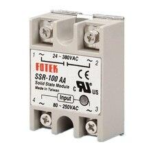 цена на Solid State Relay Module SSR-100AA 100A /250V 3-32V DC Input 24-380VAC Output Hot Selling