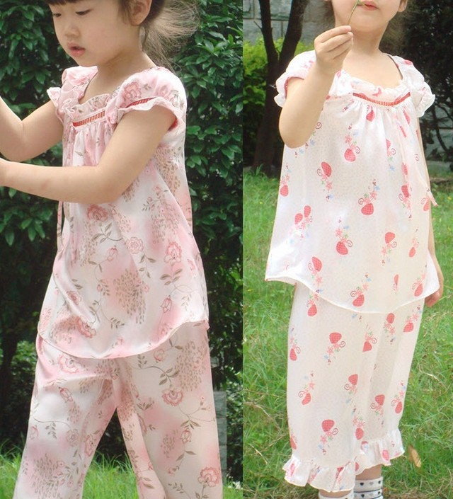 e7d360e8b Silk Kids Pajamas - Breeze Clothing