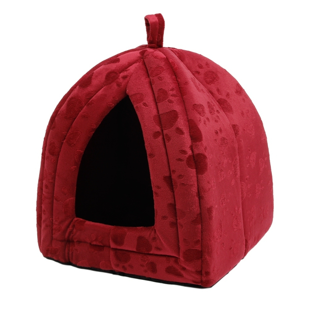 New Arrive Pet Kennel Super Soft FabricDog Bed Princess House Paw - Үй жануарлары өнімдері - фото 4