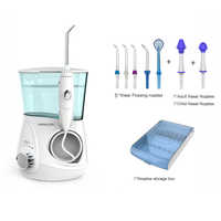 Oral water Dental Flosser Irrigator, V600G 10 Levels Oral irrigator + 5 tips + box + 2 nasal nozzles, water pick tooth clean
