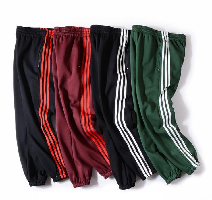 KMW 2018 Brand Male Trousers Men Pants Casual Solid Pants Sweatpants Jogger khaki Black Large Size 4XL