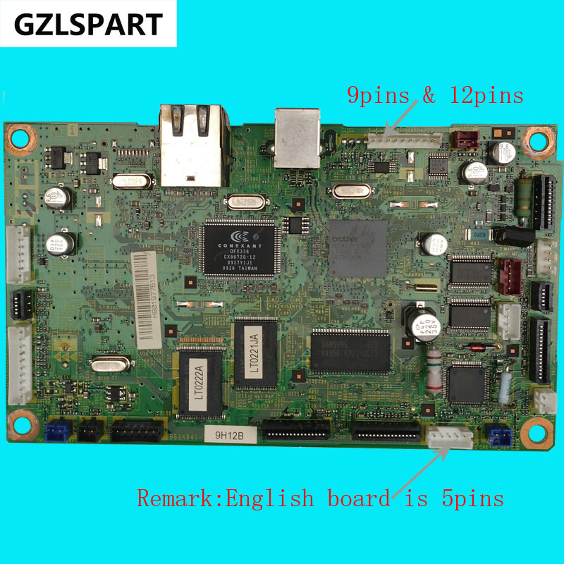 FORMATTER PCA ASSY Formatter Board logic Main Board MainBoard for brother MFC7860N MFC7860 MFC-7860 7860 N