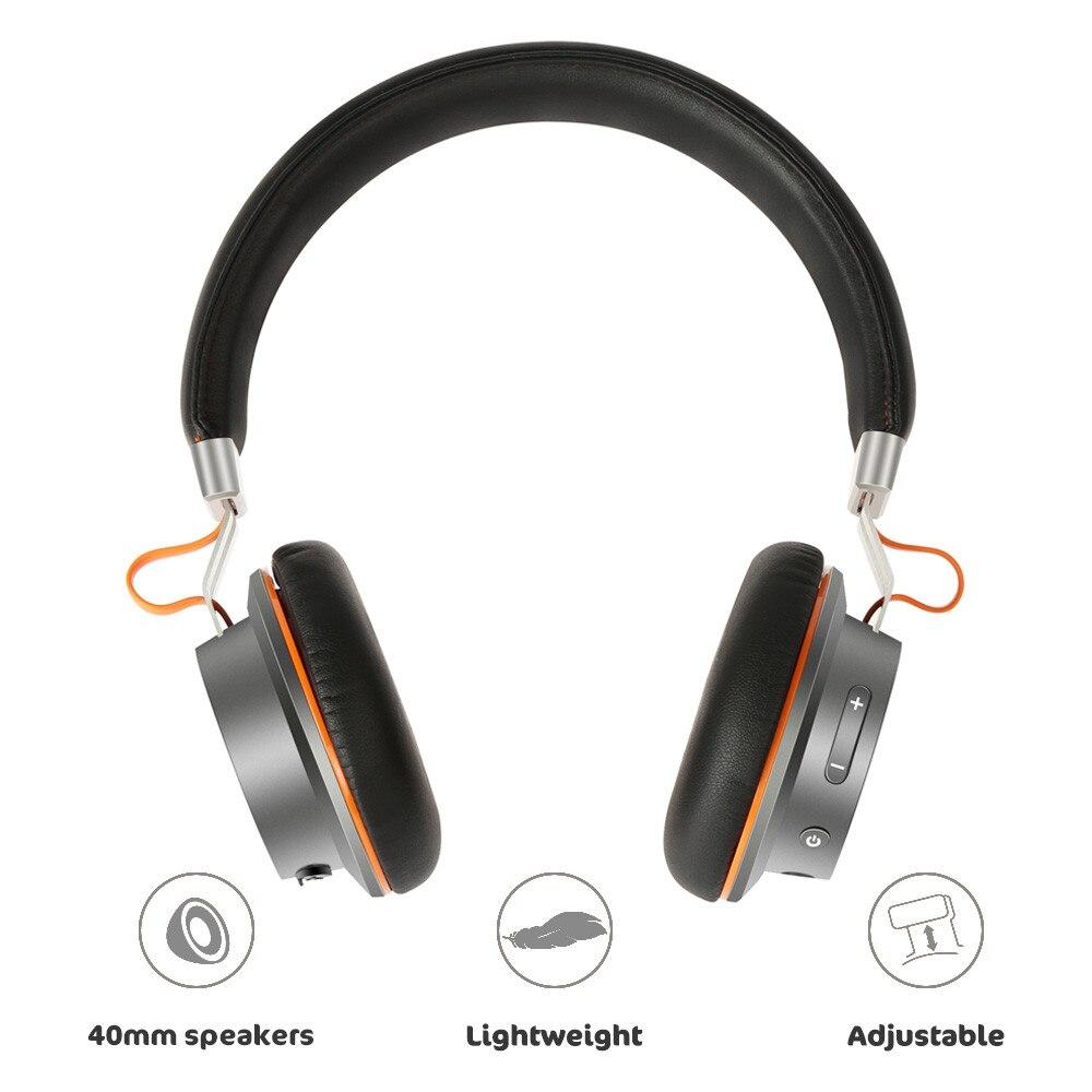 Suppression Active du bruit sans fil Fones De Ouvido Bluetooth casque Portable suppression du bruit casque casque De jeu *