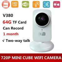 Gizcam 720P Home Wireless WiFi Support Night Vision Security Network Camera Pet Baby Monitor Consumer Camcorder