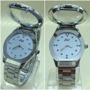 Image 5 - Tactile Braille Watch for Blind People or the Elderly Grey Dial (for man)