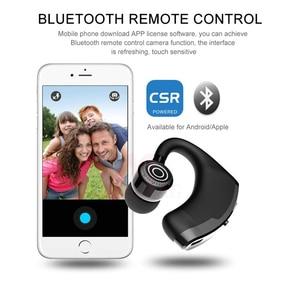 Image 4 - MEUYAG auriculares inalámbricos con Bluetooth para coche, audífonos manos libres con micrófono y gancho para la oreja para iPhone y Samsung, 2019