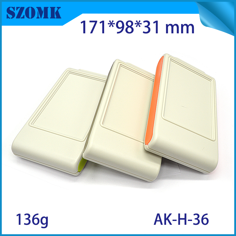 1 piece abs plastic handheld enclosures electronic housing instrument case for electronics housing instrument diy case for pcb one piece szomk rfid instrument plastic project box housing control plastic enclosures for electronics cabinet 125 103 38mm