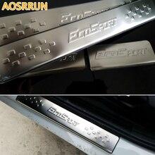 Aosrrun автомобиль-Стайлинг Нержавеющаясталь порога Накладка автомобильные аксессуары для FORD Ecosport 2013 2014 2015