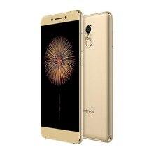 Конка 711 мобильный телефон 3 ГБ Оперативная память 32 ГБ Встроенная память 5.5 дюймов Экран 1080 P FHD mtk6737 4 ядра 13MP + 8MP отпечатков пальцев телефона Android телефон
