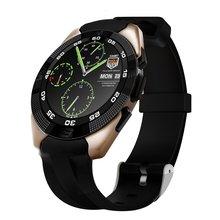 2017 g5 ultra delgado impermeable bluetooth 4.0 smart watch con gimnasio pulsómetro rastreador sms recordatorio de llamada