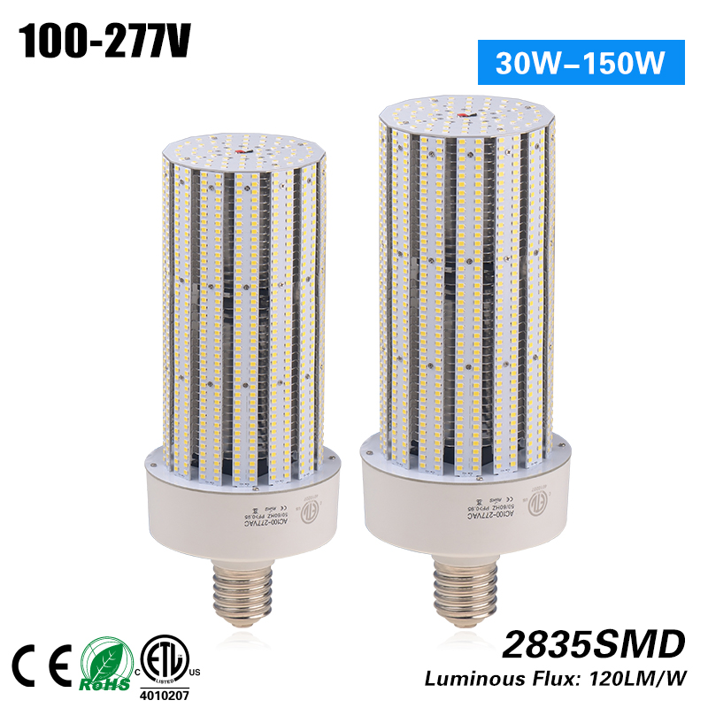 3 years warranty E40/E27 150W corn light led warehouse lighting fixtures 100-277VAC CE RoHS ETL p10 real estate project hd clear led message board 2 years warranty