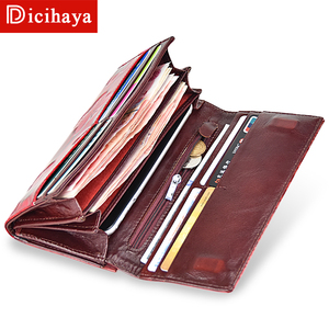 Image 5 - DICIHAYA Womens Wallets Women Leather Wallet Butterfly Design Ladies Clutch Patent Leather Purses Long Card Holder NEW 2019