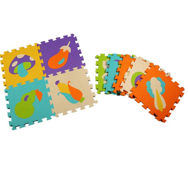 32*32 cm puzzle esteiras de espuma EVA tapetes de jogo do bebê brinquedos educacionais do bebê mat criança dígitos esteira do enigma jigsaw puzzle brinquedo para crianças tapete