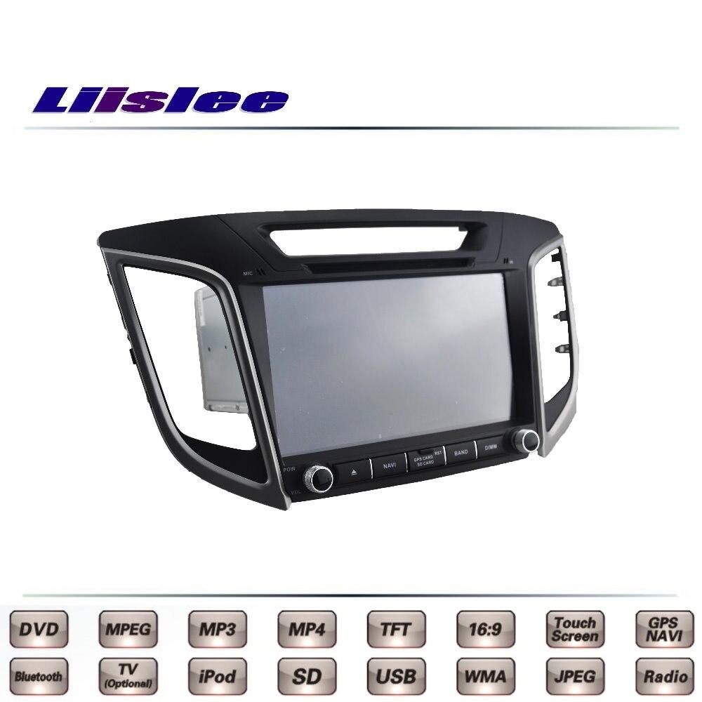 For Hyundai Creta 2014 2015 2016 Car Multimedia TV DVD GPS Radio Original Style Navigation Liislee Advanced Navi цена