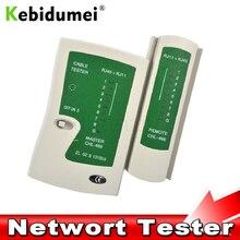 Kebidumei Профессиональный сетевой кабель тестер RJ45 RJ11 RJ12 CAT5 UTP LAN Кабельный тестер детектор дистанционного тестирования Инструменты сетевое оборудование