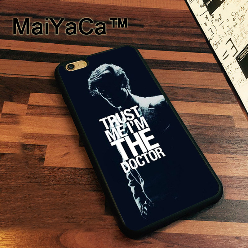 MaiYaCa Doctor Who Newest Slim Soft TPU Phone Cases For Apple iphone 7 Case 4.7 Cover For iphone 7 Back Bag