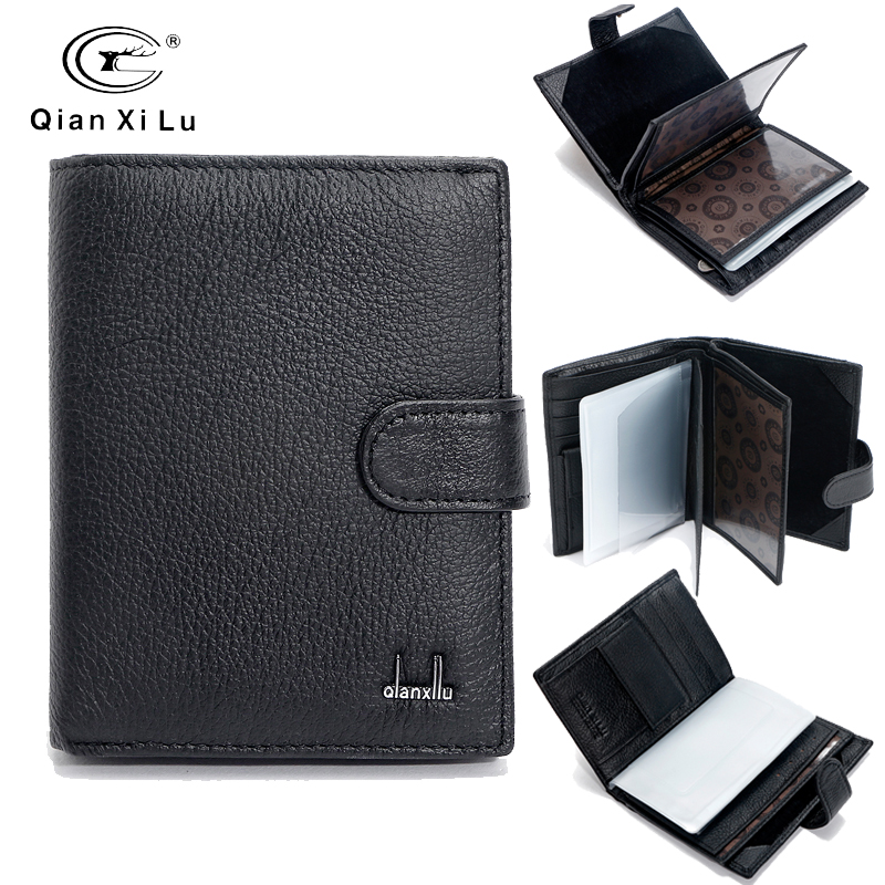 Famous Brand Large Bifold Travel Wallets Passport Bag Genuine Real Leather Wallet Credit ID Card Slots Coin Pouch Purse zelda wallet bifold link faux leather dft 1857