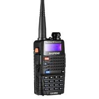 dual band כף Baofeng UV-5RC מכשיר הקשר Dual Band זוגי Ham VHF UHF רדיו תחנת משדר Boafeng Communicator ווקי טוקי כף יד (3)