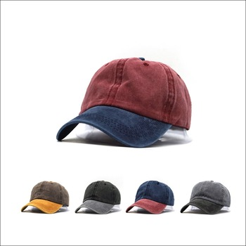Washed Denim Snapback Hats Autumn Summer Men Women Baseball Cap Golf Sunblock Beisbol Casquette Hockey Caps 2