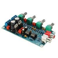 Durable NE5532 OP AMP HIFI Amplifier Preamplifier Volume Tone EQ Control Board DIY Kits New