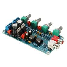 Durable NE5532 OP-AMP HIFI Amplificateur Préamplificateur Volume Tone Contrôle EQ Conseil DIY Kits Nouveau