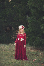 Long Sleeve Flower Girl Dresses for Wedding Children Clothing Lace Girls Dresses for Party and Wedding Baby Girl Dress