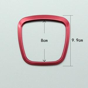 Image 3 - Refitting chrome steering wheel trim sticker emblems decorative frame cover sequins sticker accessories for Audi A4 A5 A6 Q5 Q7