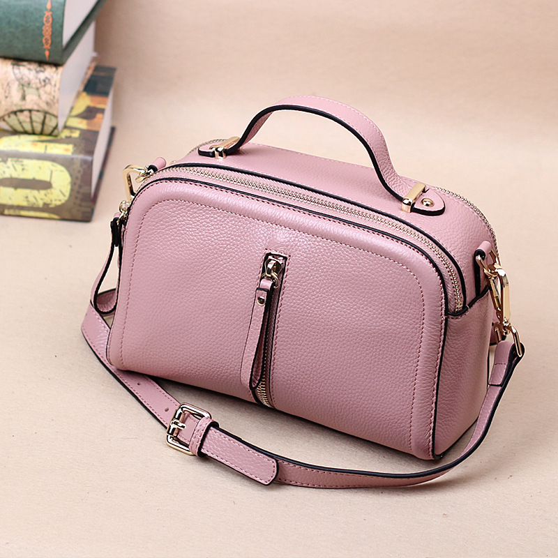 JT0727-1 Wholesale 2017 Small leather bag Women head layer cowhide simple lady fringed Messenger Bag Mini Small Shoulder Bag стоимость