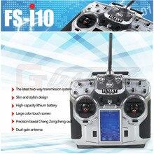 FlySky FS-i10 2,4G 10CH AFHDS 2A Automatische Frequenz Hopping Sender + FS-iA10 Empfänger für RC Multicopter Hubschrauber