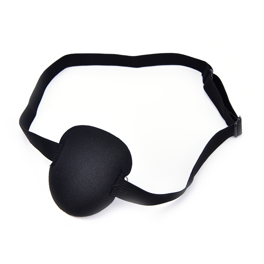 1 Stücke Schwarz Medizinische Verwendung Konkaven Eye Patch 3d Schaum Nut Eyeshades Für Faul Auge Feine Verarbeitung