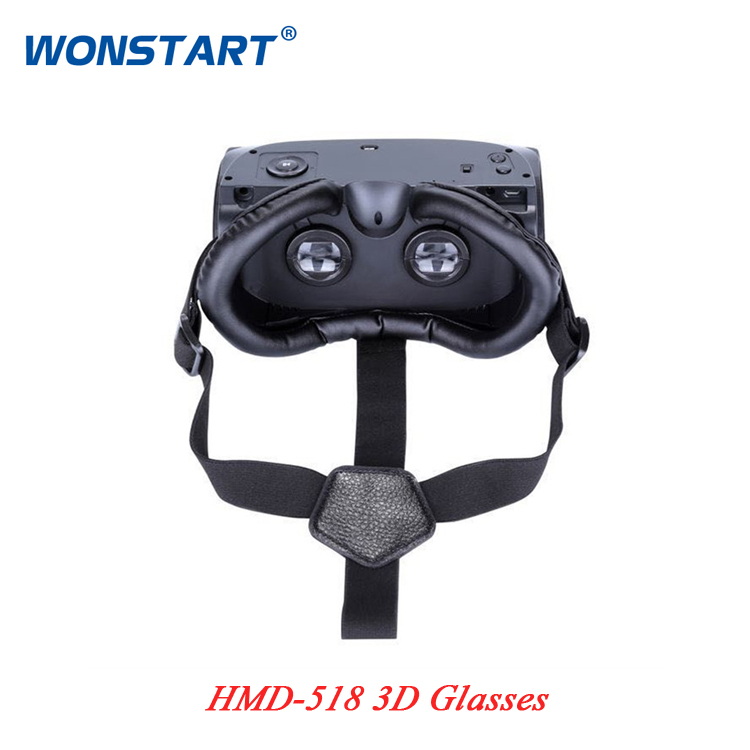 2016 New Original IMAX 3D glasses HMD 518 intelligent virtual reality font b VR b font