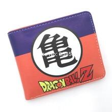 Short Purse Wallet Z-Card-Holder Dragon-Ball Anime Son-Goku Super-Saiyan Japanese Hot-Sale