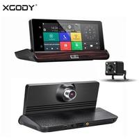 XGODY V40 7 Inch Car DVR GPS Navigation WiFi 3G Touch Android Dash Cam Navigator Rear View Camera 16GB ROM 1080P Dual Lens DVR