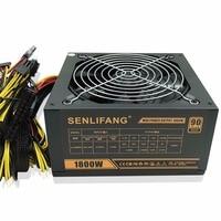 Gold POWER 1800W LIANLI 1800W BTC Power Supply For R9 380 RX 470 RX480 6 GPU
